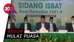 Pemerintah Tetapkan 1 Ramadhan Jatuh Pada 24 April 2020