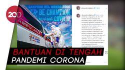 Pandemi Corona, Skuad Italia Juara Dunia 2006 Donasikan Ambulans