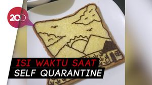 Viral Kreasi Roti Tawar Karya Netizen, Mana yang Paling Keren?