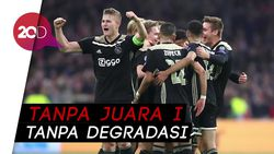 Liga Belanda Disetop, Ajax Gagal Juara
