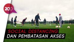 Arsenal Akan Mulai Latihan Pekan Depan, Tetap Ada Aturan Ketat