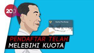 Jokowi: Korban PHK Jadi Prioritas Dapat Kartu Pra Kerja