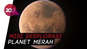 Tekad China ke Mars Didorong Puisi Penyair Besar