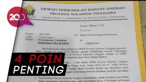 Video DPRD Sultra Bersurat ke Jokowi Tolak 500 TKA China