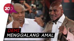 Giliran Holyfield Mau Comeback, Kembali Tantang Tyson?
