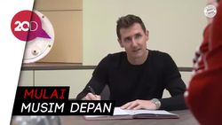 Bayern Tunjuk Miroslav Klose Jadi Asisten Pelatih