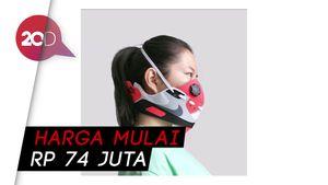 Pasutri Asal China Ini Bikin Masker Berbahan Sneakers Mahal