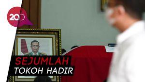 Prabowo Melayat ke Rumah Duka Djoko Santoso