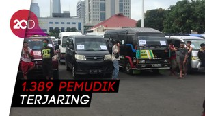 Polisi Amankan 228 Travel Gelap yang Angkut Ribuan Pemudik!