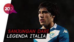 Pirlo: Sandro Tonali Lebih Komplet, Bukan Penerusku