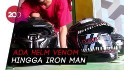 Top! Helm Custom Buatan Warga Sulsel Tembus Pasar Internasional
