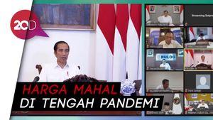 Jokowi Curiga Ada Permainan Harga Bawang Merah dan Gula Pasir!