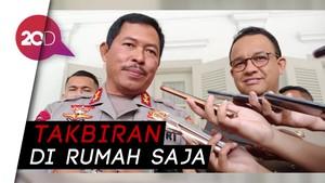 Polisi Melarang Takbir Keliling di Jakarta