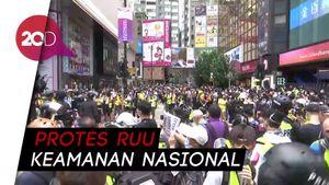 Polisi dan Masa Pro-demokrasi Hong Kong Bersitegang di Tengah Pandemi