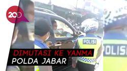 Ngamuk Ditegur Tak Pakai Masker, Oknum Polisi Bandung Dimutasi