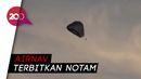 Detik-detik Balon Udara Raksasa Jatuh di Bandara Semarang