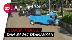 Kronologi Bajaj Vs TransJ di Pademangan
