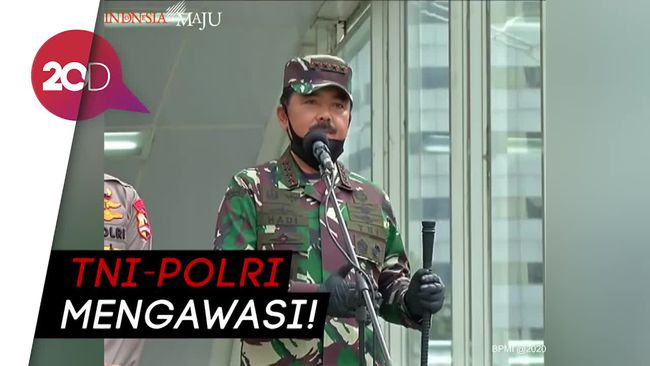 Panglima TNI Tekankan Pembatasan Jumlah Orang di Mal