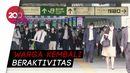Status Darurat Corona Dicabut, Stasiun Kereta Api di Tokyo Padat