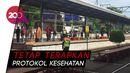 Tak Ada Penumpukan, Stasiun KRL Angke Kembali Beroperasi Normal