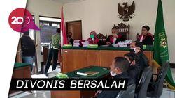 5 Mahasiswa Kasus Terbakar-Tewasnya Polisi Cianjur Divonis 9-12 Tahun