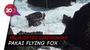 Evakuasi Dramatis 2 Pemancing yang Terjebak di Tebing