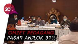 Mendag: Jumlah Pedagang Pasar Turun 29% Gegara Corona