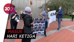 Aksi Protes Kematian George Floyd Terus Meluas