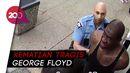 Rekaman CCTV Buktikan Tidak Ada Perlawanan George Floyd