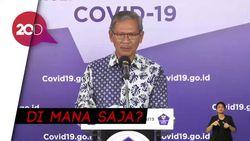 8 Provinsi Nihil Kasus Baru Covid-19 di Indonesia