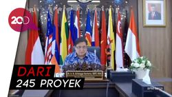 Jokowi Restui 89 PSN Senilai Rp 1.422 Triliun