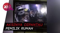 Bikin Terkekeh! Aksi Pencurian Sepeda di Makassar yang Terekam CCTV
