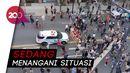 Video Mobil Polisi New York Seruduk Massa Aksi George Floyd