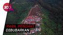 Ratusan Pendaki Berkemah di Bukit Alas Bandawasa Saat Pandemi