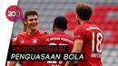 Pesta Gol Bayern Munchen ke Gawang Dusseldorf