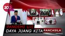 Jokowi Peringati Hari Lahir Pancasila Melalui Konferensi Video