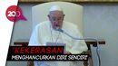 Soal George Floyd, Paus Fransiskus: Kita Tak Bisa Tolerir Rasialisme