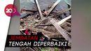Jembatan di Padang Pariaman Ambruk, 1 Pekerja Tewas-4 Terluka