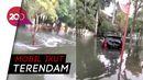 Perumahan Pantai Mutiara Jakut Terdampak Banjir Rob, Tinggi Air 50 Cm