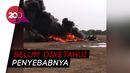 Video Helikopter Jatuh dan Terbakar di Kendal