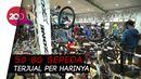 Toko Sepeda di Solo Diserbu Warga