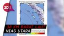Gempa M 5,1 Guncang Nias Utara, Tak Berpotensi Tsunami