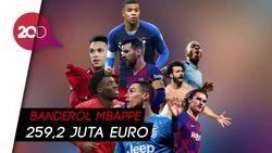 Bukan Ronaldo-Messi, Mbappe Jadi Pemain Paling Berharga