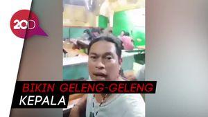 Duh! Ada-ada Saja, Pria di Surabaya Tantang Hirup Mulut Pasien Corona