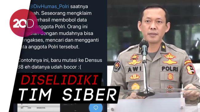 Soal Database Personel Polisi Dibobol, Polri: Itu Hoax