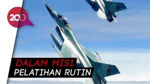 Pilot Jet Tempur F-15 AS yang Jatuh di Laut Inggris Ditemukan Tewas