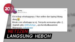 Fitur Last Seen, Online, Typing Hilang, WhatsApp Puncaki Trending