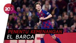 Gol Rakitic Menangkan Barcelona atas Athletic Bilbao