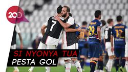 Ronaldo Torehkan Gol dan Assist, Juventus Bantai Lecce 4-0