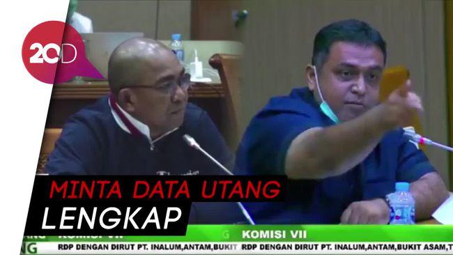 Debat Panas soal Utang, Dirut Holding Tambang Diusir dari Rapat DPR